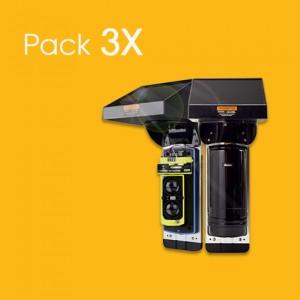 PACK 3X - Detetor de feixe...